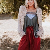 Florence Faux Fur Chubby Jacket