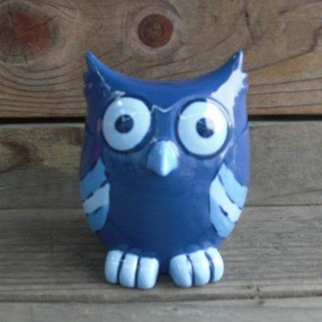 ON SALE Hootie Hoot Ceramic Owl Bank by InAGlaze on Etsy