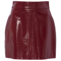 Lola Leather Miniskirt | Moda Operandi