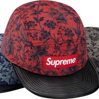 Supreme Liberty® Pinwale Cord w/ Leather Visor Camp Cap