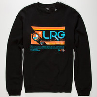 Lrg Retro Revival Mens Sweatshirt Black  In Sizes