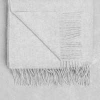 & Other Stories | Wool Scarf | Light Grey