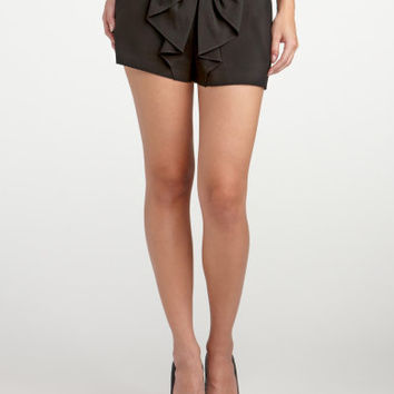 Charlotte Russe - Bow Front Short