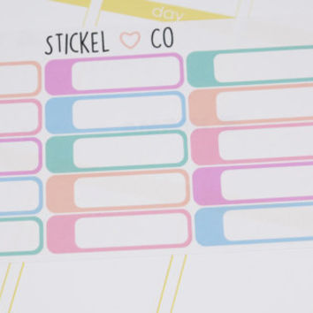 15 Appointment Stickers - Perfect for Erin Condren and other Life Planners