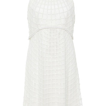 Racer Hand Beaded Dress | Moda Operandi