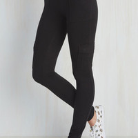 Ahead of the Glam Pants in Black | Mod Retro Vintage Jackets | ModCloth.com
