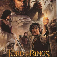 Lord of the Rings Return of the King Movie Poster 22x34