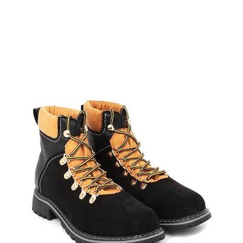 Like a Walk in the Park Vegan Leather Boot