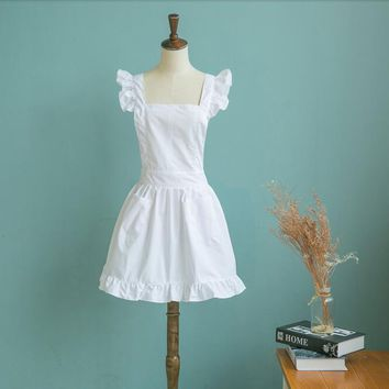 1pc Japanese Style Elegant Victorian Pinafore apron for The Hostess with the Mostess or elegant restaurant wear