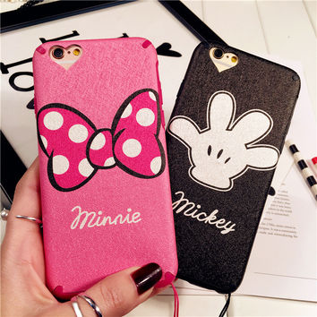 Hot Sale Hot Deal Stylish Iphone 6/6s On Sale Cute Apple Soft Silicone Phone Case [6034144705]