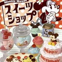 Re-Ment Disney Mickey Minnie Sweets Shop Miniature Box - Re-Ment Miniature