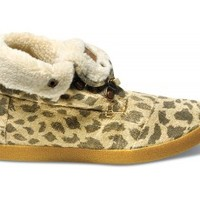 Leopard Burlap Women's Highlands Botas