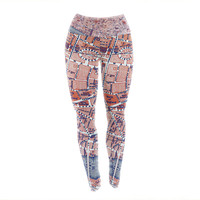 "Alison Coxon ""City Of London"" Map Yoga Leggings"