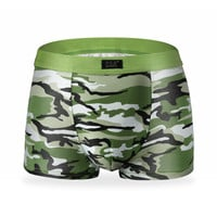Men's Fashion Breathable Boxer Tide Soldier Camouflage Underwear