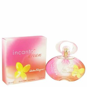 Incanto Dream by Salvatore Ferragamo Eau De Toilette Spray 3.4 oz (Women)