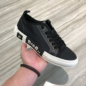 Dior Men Black Fashion Casual Sneakers Sport Shoes Size 38-44