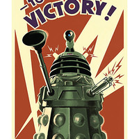 Doctor Who Dalek Victory Poster