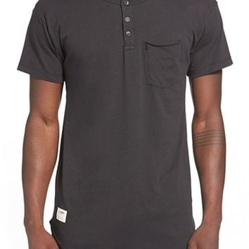 Men's Lira Clothing 'Kiwi' Short Sleeve Pocket Henley,