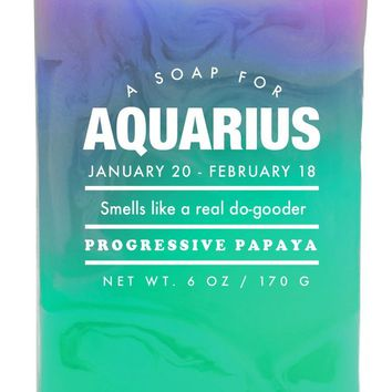 Aquarius Progressive Papaya Scented Soap - Smells Like a Real Do-Gooder