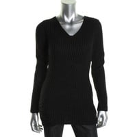 Aro Womens Knit Long Sleeves Pullover Sweater