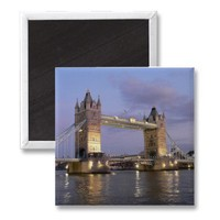 Tower Bridge of London Magnet from Zazzle.com
