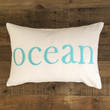 Maka Sea - Kai Ocean Pillow / Turquoise