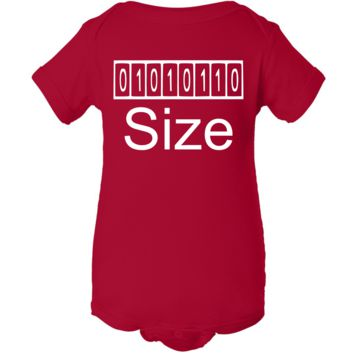 """""""Byte Size"""" Creeper Baby Onesuit"""