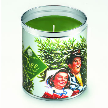 Couple With Tree Candle