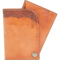 Men's Nixon 'Trait' Leather Card Wallet