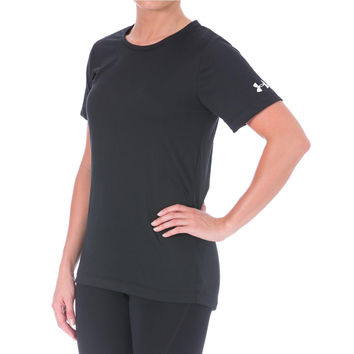 Under Armour Womens Finisher Semi-Fitted Crew Neck T-Shirt