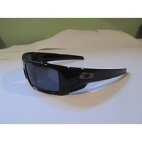 New Oakley Gascan Polarized 12-891 Sunglasses. Polished Black/Grey Polarized