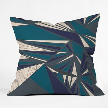 Vy La Tech It Out Midnight Throw Pillow