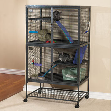 Small Pet Cages & Pens: One- and Two-Level Critter Nation Cages