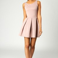 Yasmin Ribbed Skater Dress