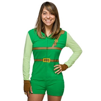 Legend of Zelda Link Ladies' Romper - Exclusive
