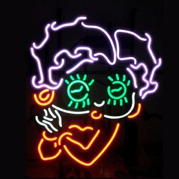 Betty Boop Neon Sign Real Neon Light