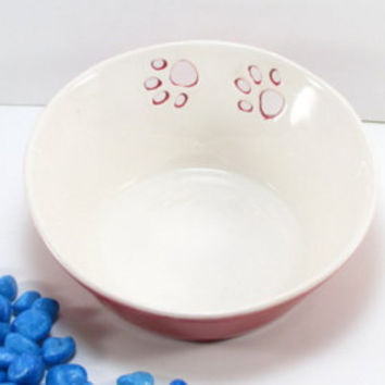 Cat food bowl, ceramic pet bowl, pet food bowl, pet dish, pottery pet bowl, ceramic pet dish, pet feeding, cat food dish, pet bowl, cat bowl
