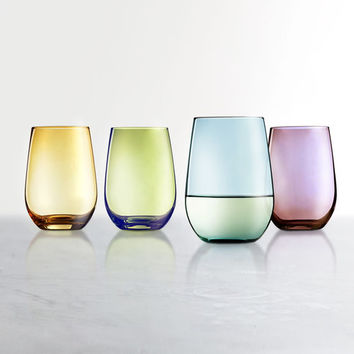 Food Network™ Tuscana 4-pc. Stemless Wine Glass Set