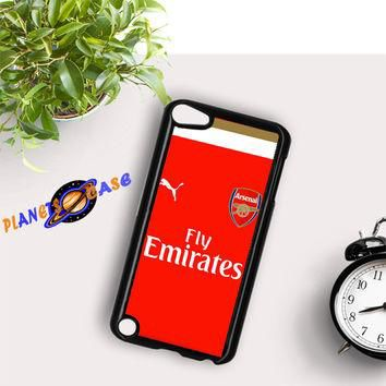 Arsenal Jersey Red Soccer iPod Touch 6 Case Planetscase.com
