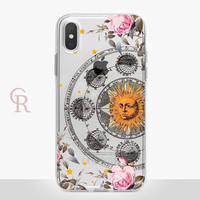 Astrology Clear Phone Case For iPhone 8 iPhone 8 Plus iPhone X Phone 7 Plus iPhone 6 iPhone 6S  iPhone SE Samsung S8  Astronomy Spiritual