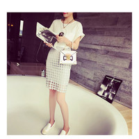 Thin Package Hip Soluble Lace Skirt