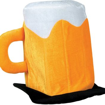 Plush Beer Mug Hat Case Pack 6