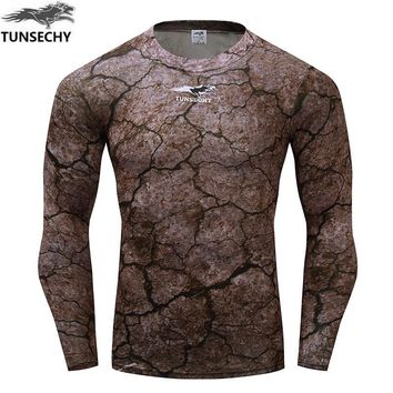 Fitness Compression Long Sleeve Quick Dry Workout Fashion Casual Wear Shirts