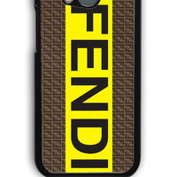 HTC One M8 Case - Hard (PC) Cover with fendi logo Plastic Case Design
