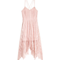 Knee-length Lace Dress - from H&M