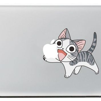 Spoiled kitten  Vinyl Decal for New Macbook Pro 13 15 inch and Air 11 13 inch Decal Skin Laptop Sticker