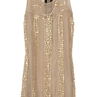 Marni Embellished silk-voile dress – 85% at THE OUTNET.COM