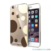 Gold Circles Phone Case - iPhone 6 Plus