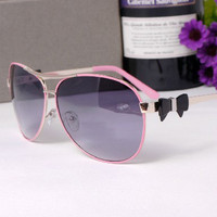 Pretty pink bow sunglasses