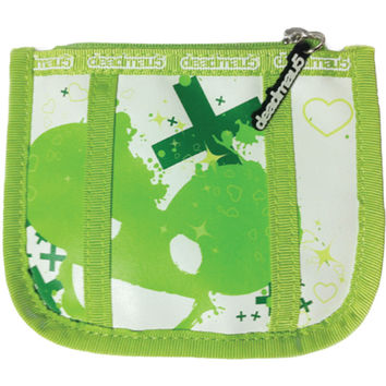 Deadmau5 Women's Coin Pouch Girls Wallet Green